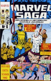 Cover Thumbnail for Marvel Saga (SatellitFörlaget, 1988 series) #6
