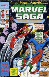 Cover Thumbnail for Marvel Saga (SatellitFörlaget, 1988 series) #9