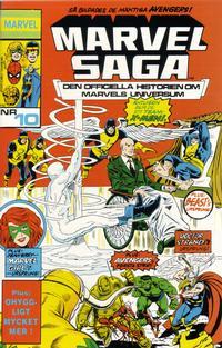 Cover Thumbnail for Marvel Saga (SatellitFörlaget, 1988 series) #10