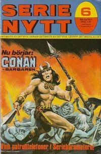 Cover Thumbnail for Serie-nytt [delas?] (Semic, 1970 series) #6/1971