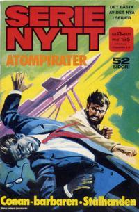 Cover Thumbnail for Serie-nytt [delas?] (Semic, 1970 series) #13/1971