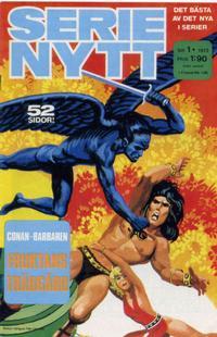 Cover Thumbnail for Serie-nytt [delas?] (Semic, 1970 series) #1/1973