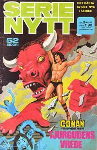 Cover Thumbnail for Serie-nytt [delas?] (Semic, 1970 series) #3/1973