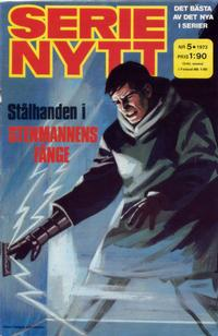 Cover Thumbnail for Serie-nytt [delas?] (Semic, 1970 series) #5/1973