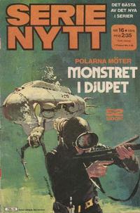 Cover Thumbnail for Serie-nytt [delas?] (Semic, 1970 series) #16/1974