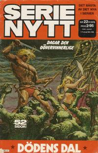 Cover Thumbnail for Serie-nytt [delas?] (Semic, 1970 series) #22/1976