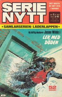 Cover Thumbnail for Serie-nytt [delas?] (Semic, 1970 series) #2/1977
