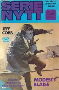 Cover Thumbnail for Serie-nytt [delas?] (Semic, 1970 series) #7/1977