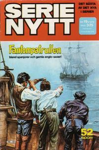 Cover Thumbnail for Serie-nytt [delas?] (Semic, 1970 series) #19/1978