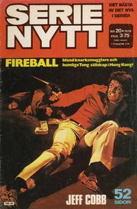 Cover Thumbnail for Serie-nytt [delas?] (Semic, 1970 series) #20/1978