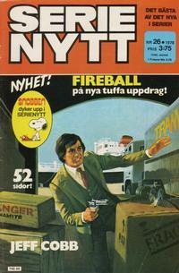 Cover Thumbnail for Serie-nytt [delas?] (Semic, 1970 series) #26/1978