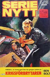 Cover Thumbnail for Serie-nytt [delas?] (Semic, 1970 series) #17/1979