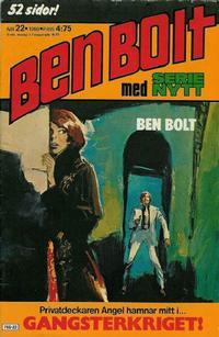 Cover Thumbnail for Serie-nytt [delas?] (Semic, 1970 series) #22/1980