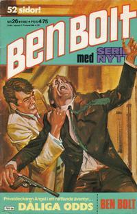 Cover Thumbnail for Serie-nytt [delas?] (Semic, 1970 series) #26/1980