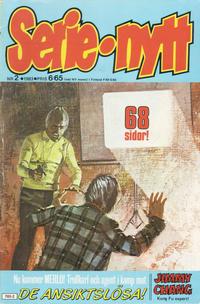 Cover Thumbnail for Serie-nytt [delas?] (Semic, 1970 series) #2/1983