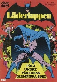 Cover Thumbnail for Läderlappen (Semic, 1976 series) #11/1976