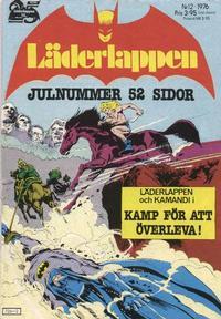 Cover Thumbnail for Läderlappen (Semic, 1976 series) #12/1976