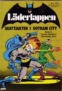 Cover Thumbnail for Läderlappen (Semic, 1976 series) #2/1977