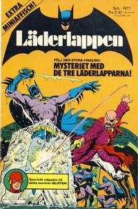 Cover Thumbnail for Läderlappen (Semic, 1976 series) #6/1977