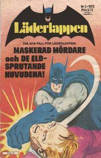 Cover Thumbnail for Läderlappen (Semic, 1976 series) #3/1978