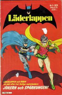 Cover Thumbnail for Läderlappen (Semic, 1976 series) #5/1978