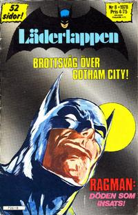 Cover for Läderlappen (Semic, 1976 series) #8/1978