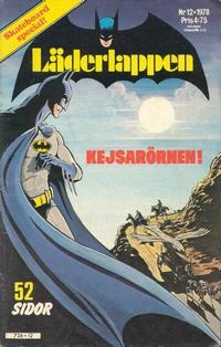 Cover Thumbnail for Läderlappen (Semic, 1976 series) #12/1978