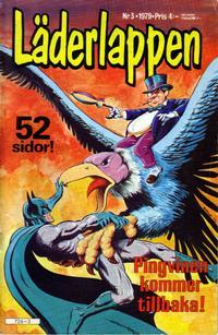 Cover Thumbnail for Läderlappen (Semic, 1976 series) #3/1979