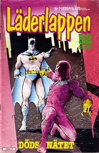 Cover Thumbnail for Läderlappen (Semic, 1976 series) #7/1979