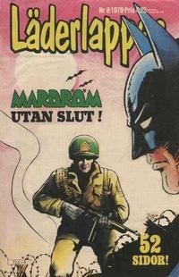 Cover Thumbnail for Läderlappen (Semic, 1976 series) #8/1979