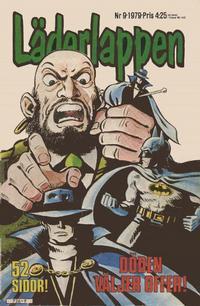 Cover Thumbnail for Läderlappen (Semic, 1976 series) #9/1979