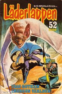 Cover Thumbnail for Läderlappen (Semic, 1976 series) #12/1979