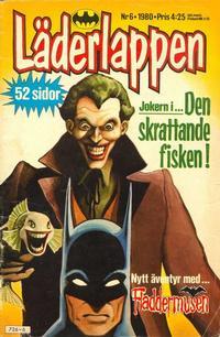 Cover Thumbnail for Läderlappen (Semic, 1976 series) #6/1980