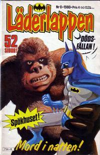 Cover Thumbnail for Läderlappen (Semic, 1976 series) #8/1980