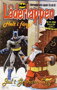 Cover Thumbnail for Läderlappen (Semic, 1976 series) #12/1980