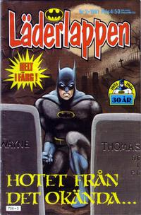Cover Thumbnail for Läderlappen (Semic, 1976 series) #2/1981