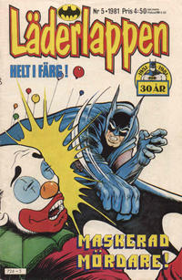 Cover Thumbnail for Läderlappen (Semic, 1976 series) #5/1981