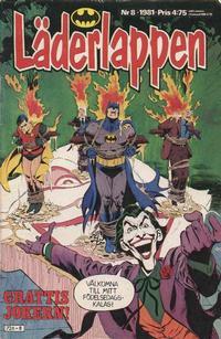 Cover Thumbnail for Läderlappen (Semic, 1976 series) #8/1981