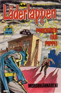 Cover Thumbnail for Läderlappen (Semic, 1976 series) #9/1981
