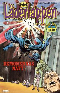 Cover Thumbnail for Läderlappen (Semic, 1976 series) #10/1981