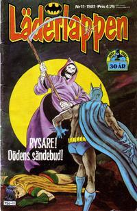 Cover Thumbnail for Läderlappen (Semic, 1976 series) #11/1981