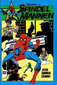 Cover Thumbnail for Spindelmannen extra sommarläsning (Atlantic Förlags AB, 1984 series)