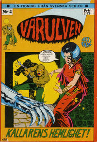 Cover Thumbnail for Varulven (Svenska serier, 1972 series) #2/[1972]