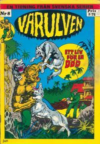 Cover Thumbnail for Varulven (Svenska serier, 1972 series) #8