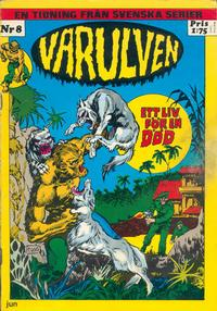 Cover Thumbnail for Varulven (Svenska serier, 1972 series) #8