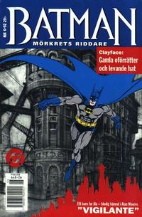 Cover Thumbnail for Batman - Mörkrets riddare (Epix, 1992 series) #6/92 [6/1992]