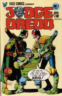Cover Thumbnail for Judge Dredd (Eagle Comics; Pingvinförlaget, 1984 series) #1/1984