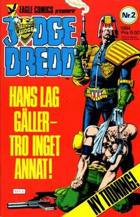 Cover Thumbnail for Judge Dredd (Eagle Comics; Pingvinförlaget, 1984 series) #2/1984