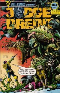Cover Thumbnail for Judge Dredd (Eagle Comics; Pingvinförlaget, 1984 series) #3/1984