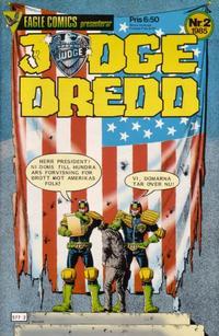 Cover Thumbnail for Judge Dredd (Eagle Comics; Pingvinförlaget, 1984 series) #2/1985